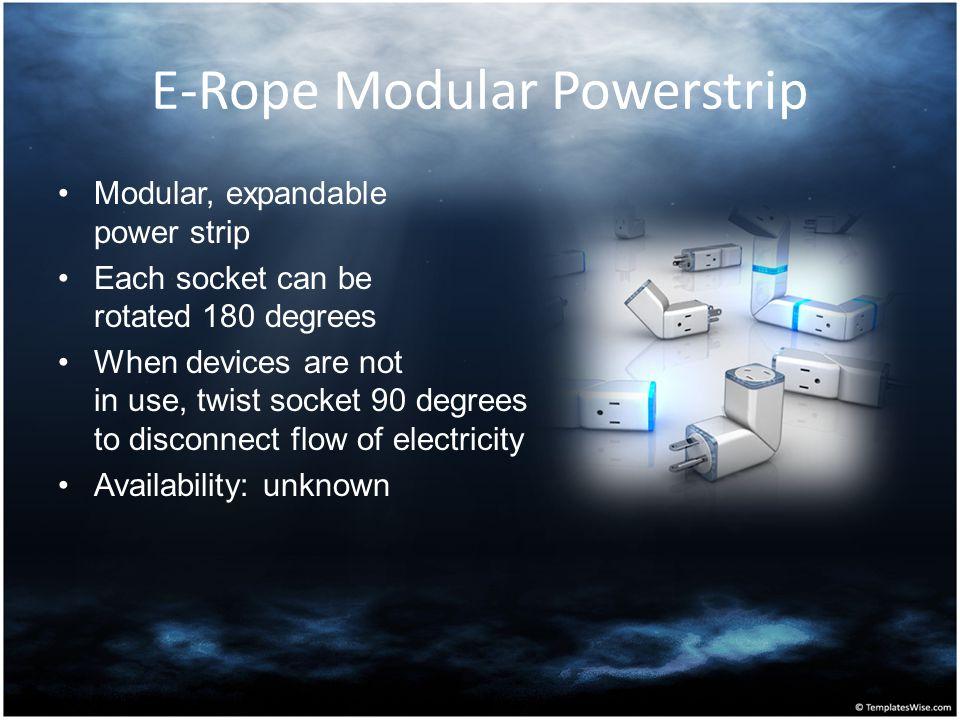 E-Rope Modular Powerstrip