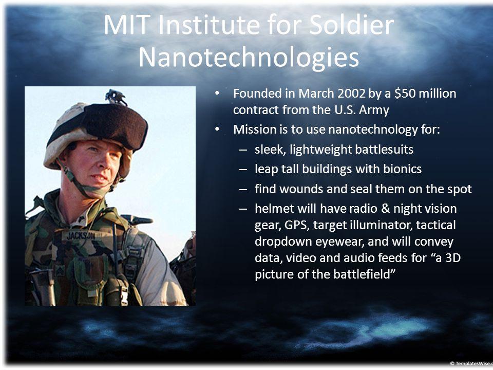 MIT Institute for Soldier Nanotechnologies