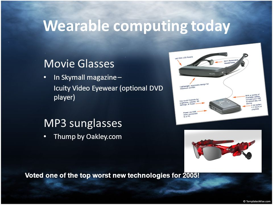 Wearable computing today