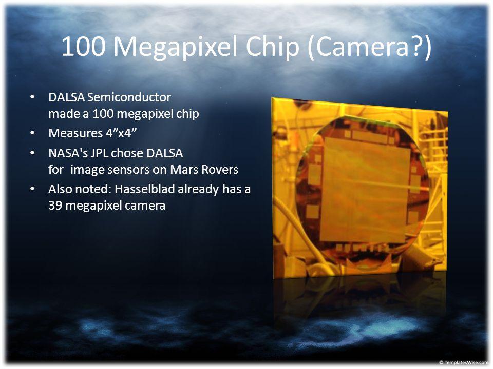 100 Megapixel Chip (Camera )