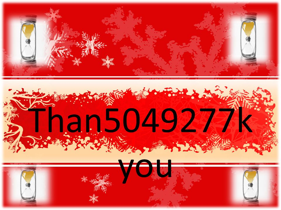 Than5049277k you Social Networks Winter 2008