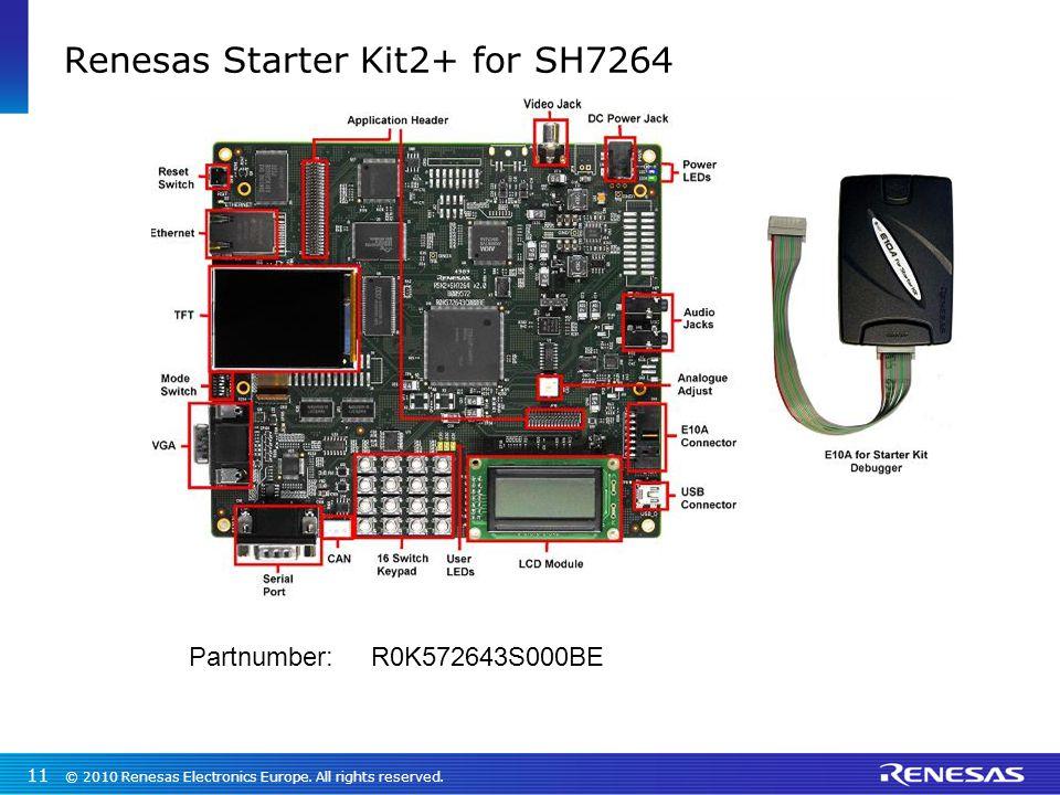 Renesas Starter Kit2+ for SH7264