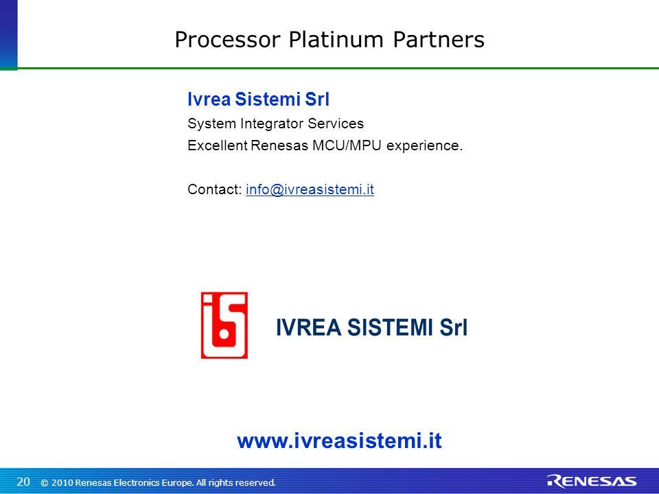 Processor Platinum Partners