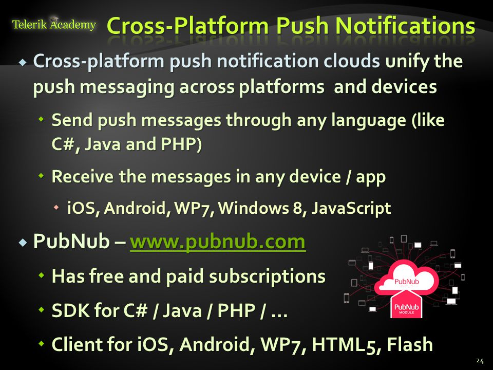 Cross-Platform Push Notifications