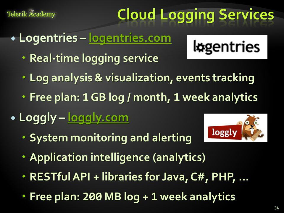 Cloud Logging Services