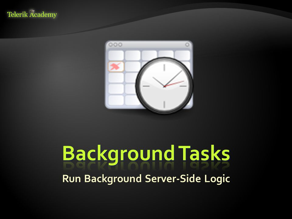 Run Background Server-Side Logic