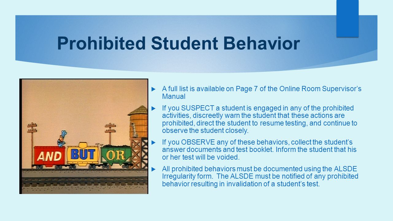 Prohibited Student Behavior
