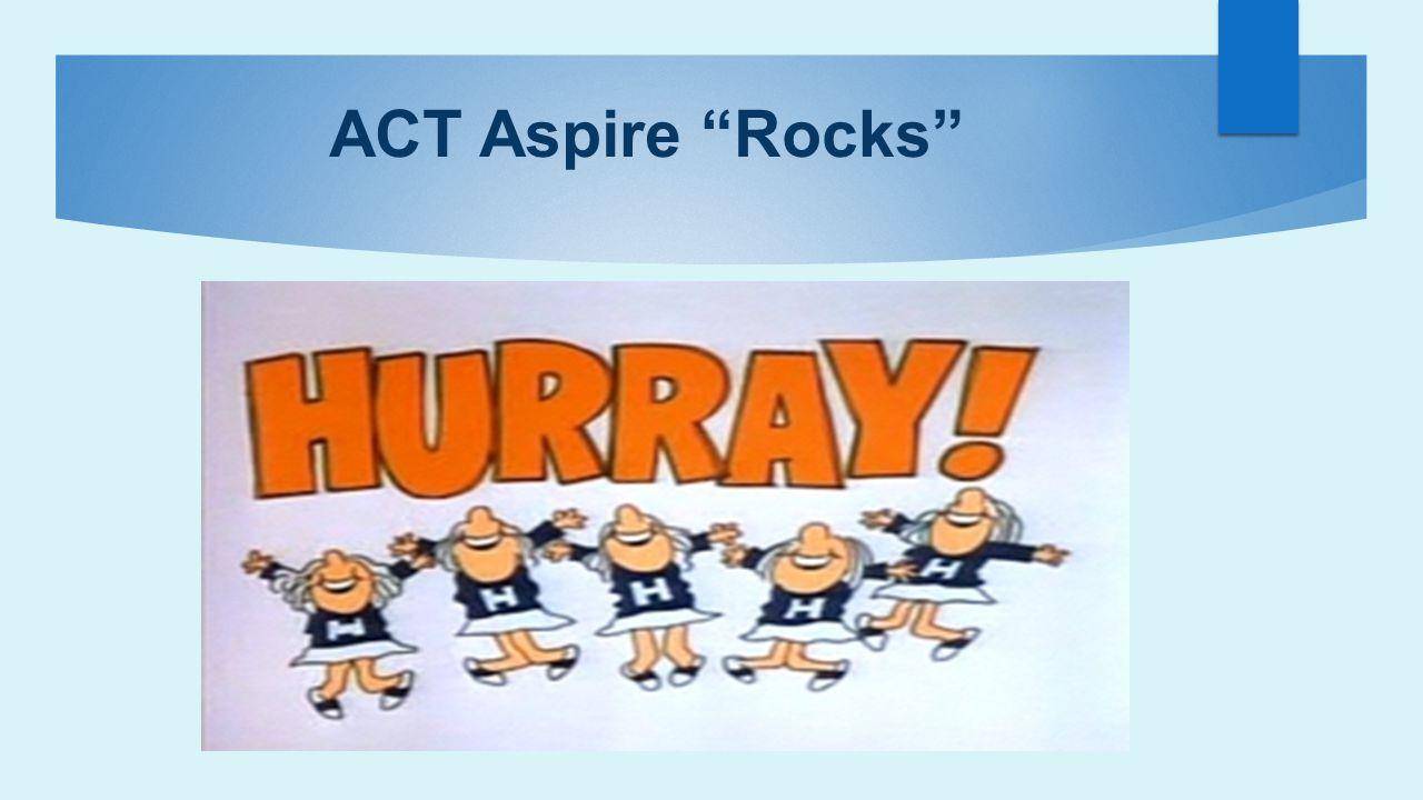 ACT Aspire Rocks
