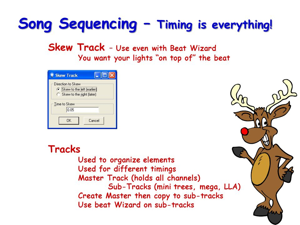 Song Sequencing – Timing is everything!