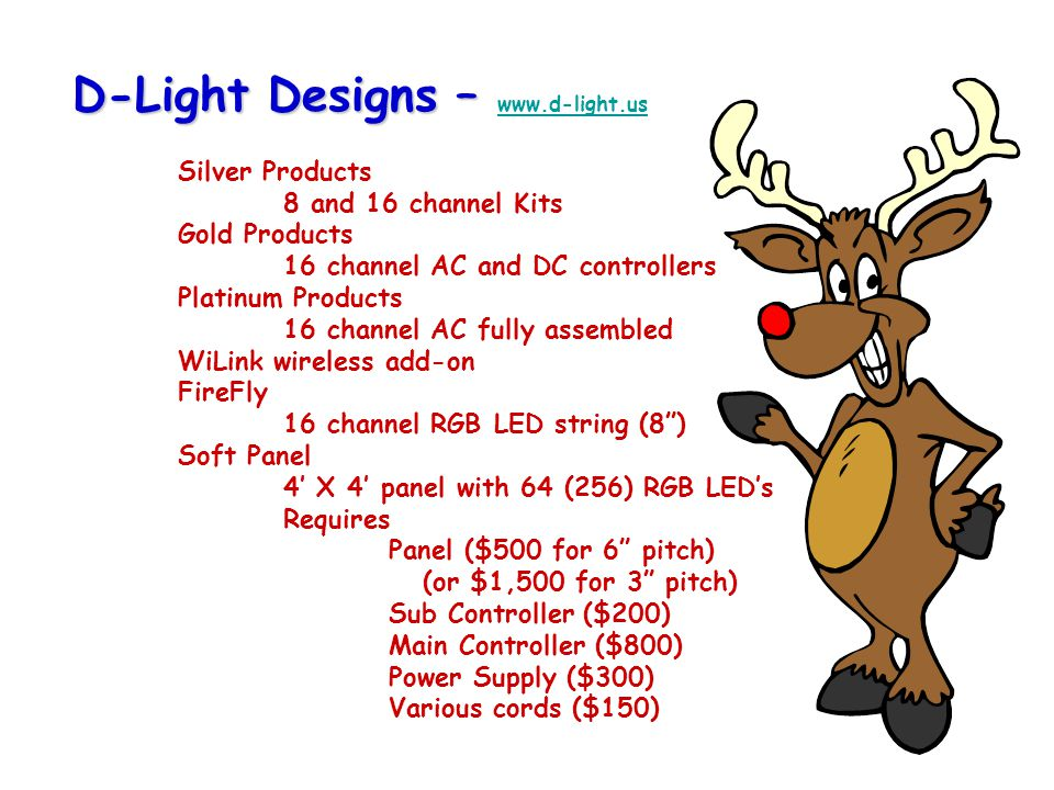 D-Light Designs – www. d-light. us. Silver Products