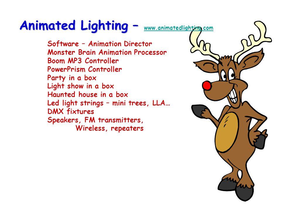 Animated Lighting – www. animatedlighting. com