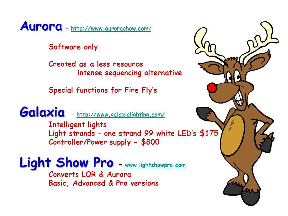 Aurora - http://www. aurorashow. com/. Software only