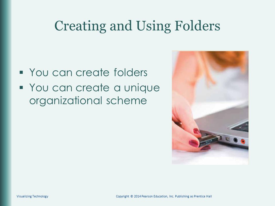 Creating and Using Folders