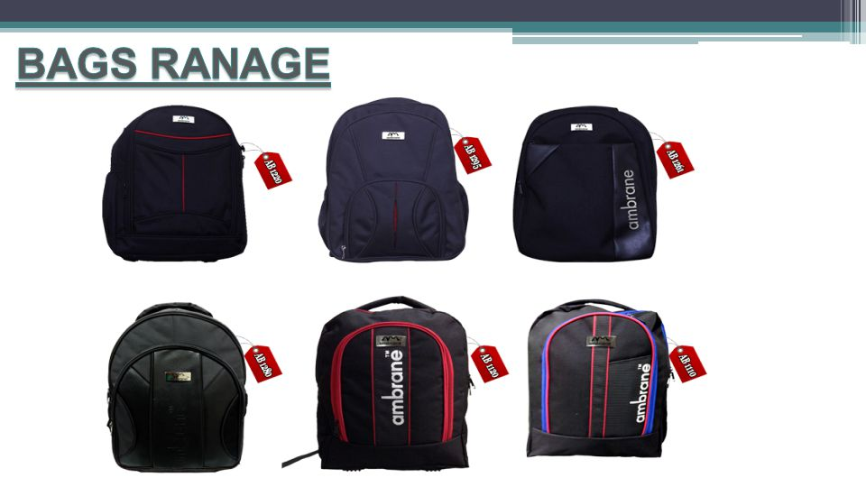 BAGS RANAGE