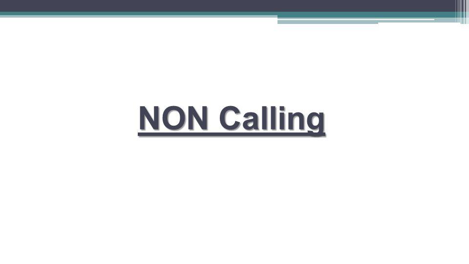 NON Calling