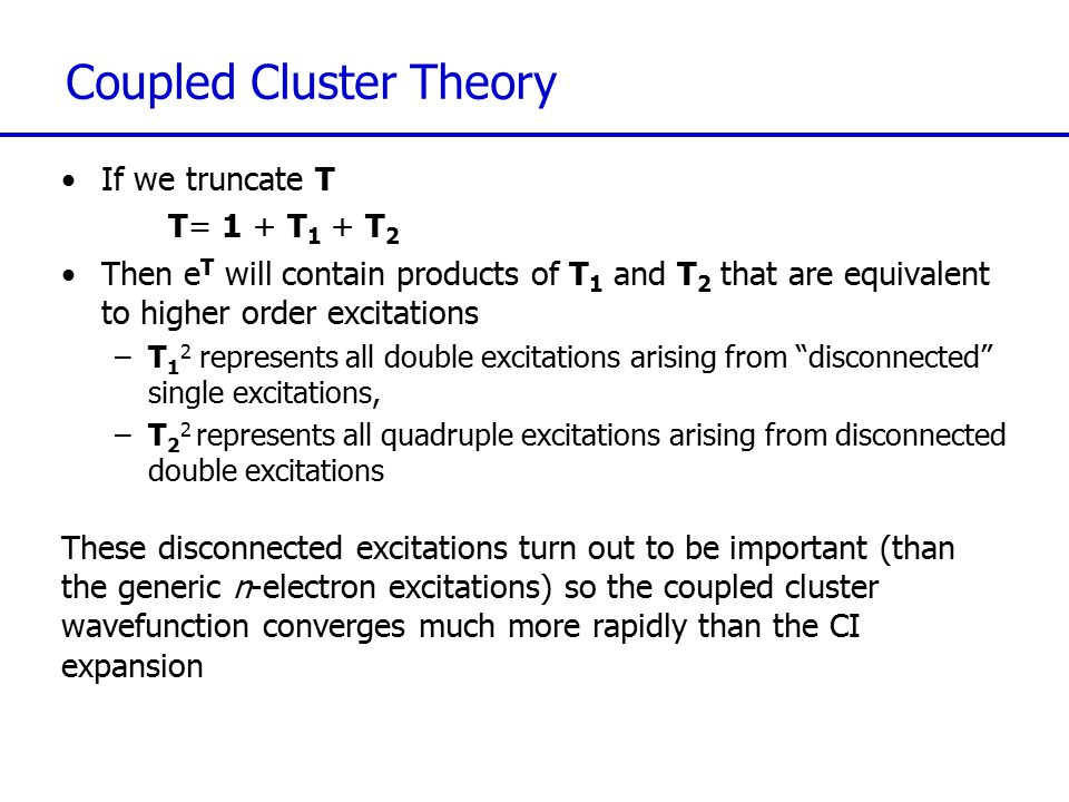 Coupled Cluster Theory