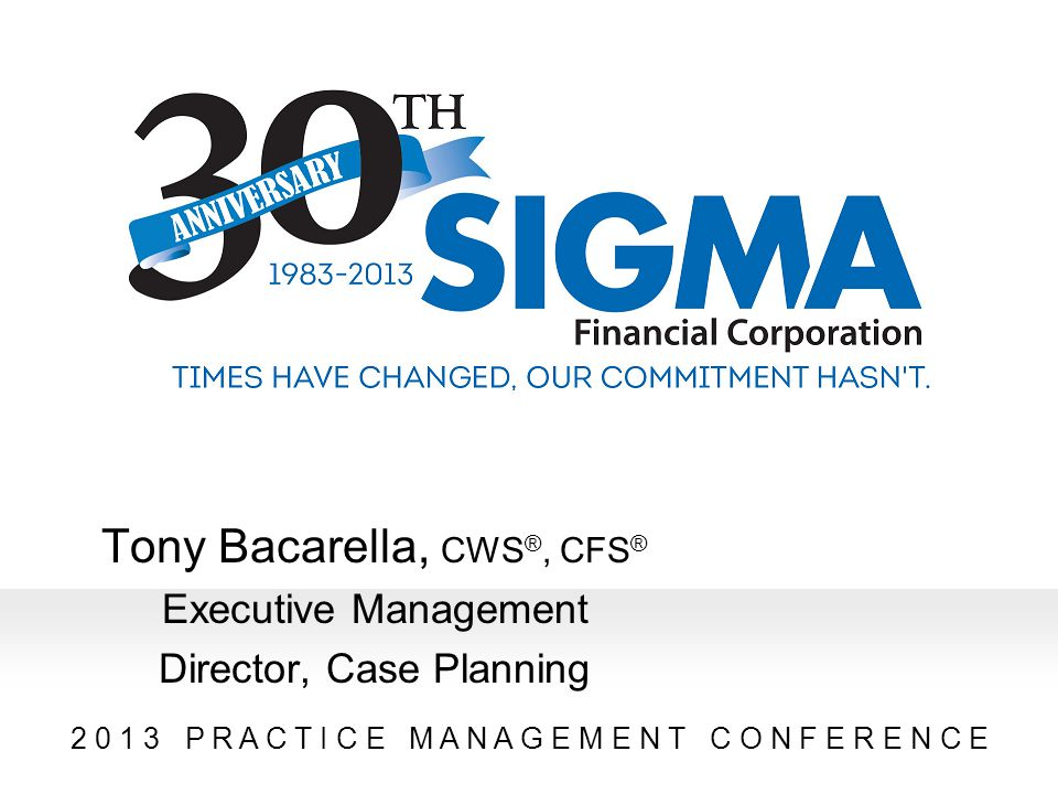 Tony Bacarella, CWS®, CFS®