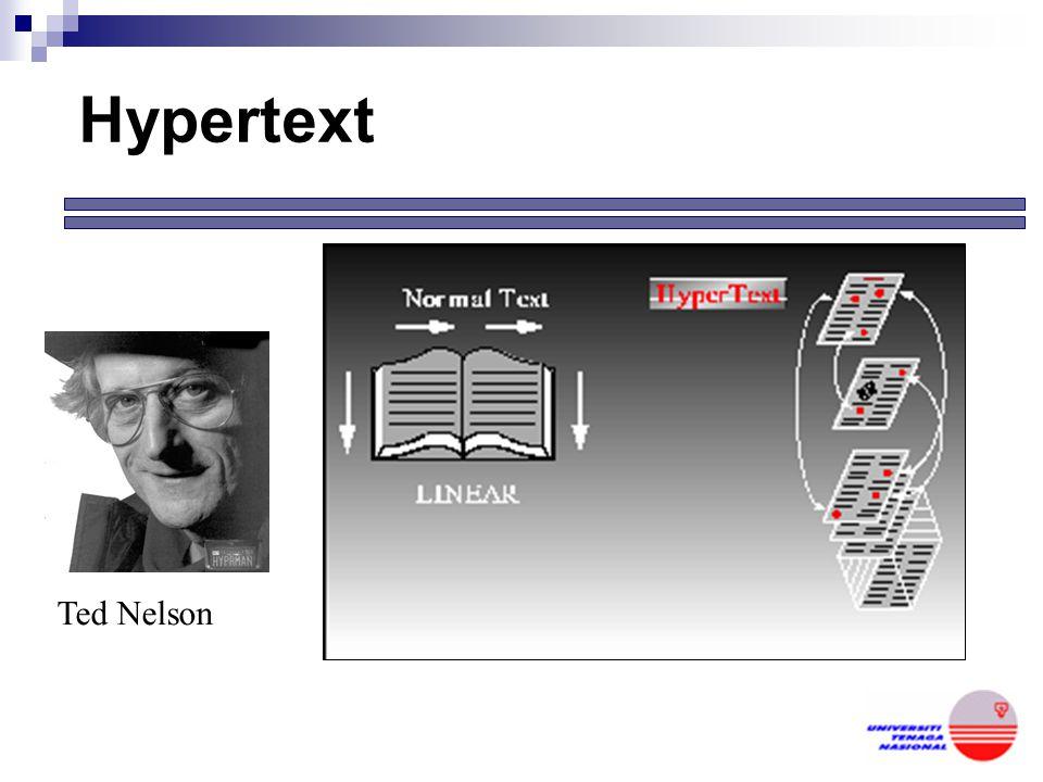 Hypertext Ted Nelson