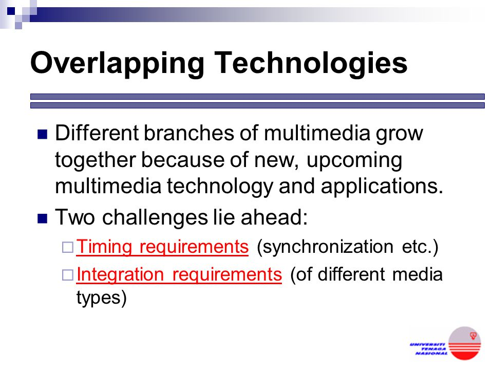 Overlapping Technologies