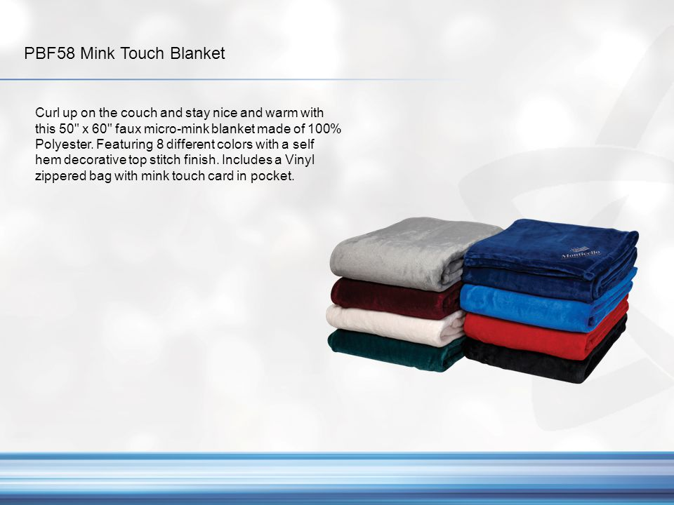 PBF58 Mink Touch Blanket
