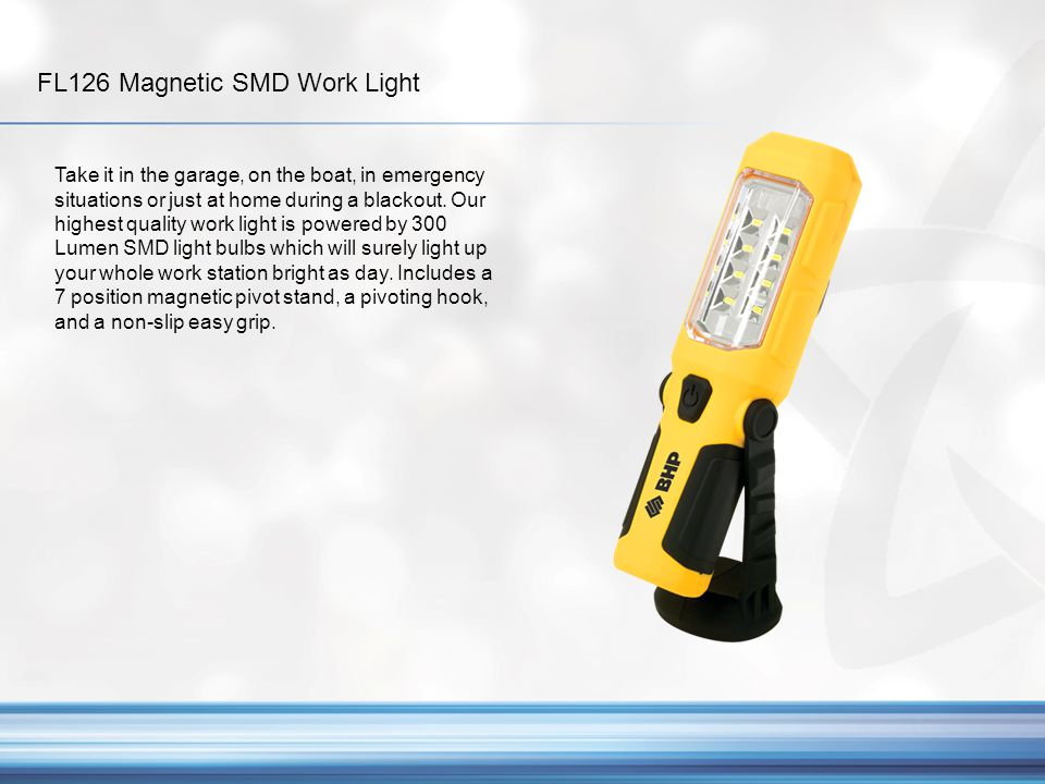 FL126 Magnetic SMD Work Light