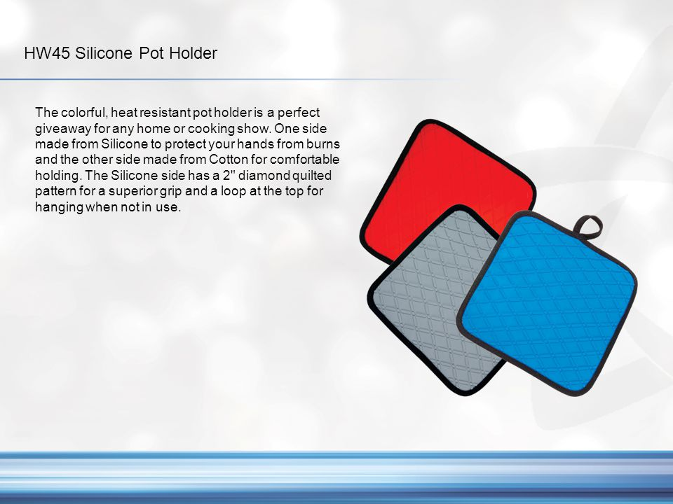 HW45 Silicone Pot Holder