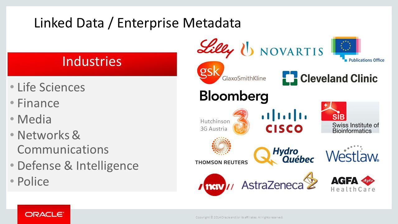Linked Data / Enterprise Metadata