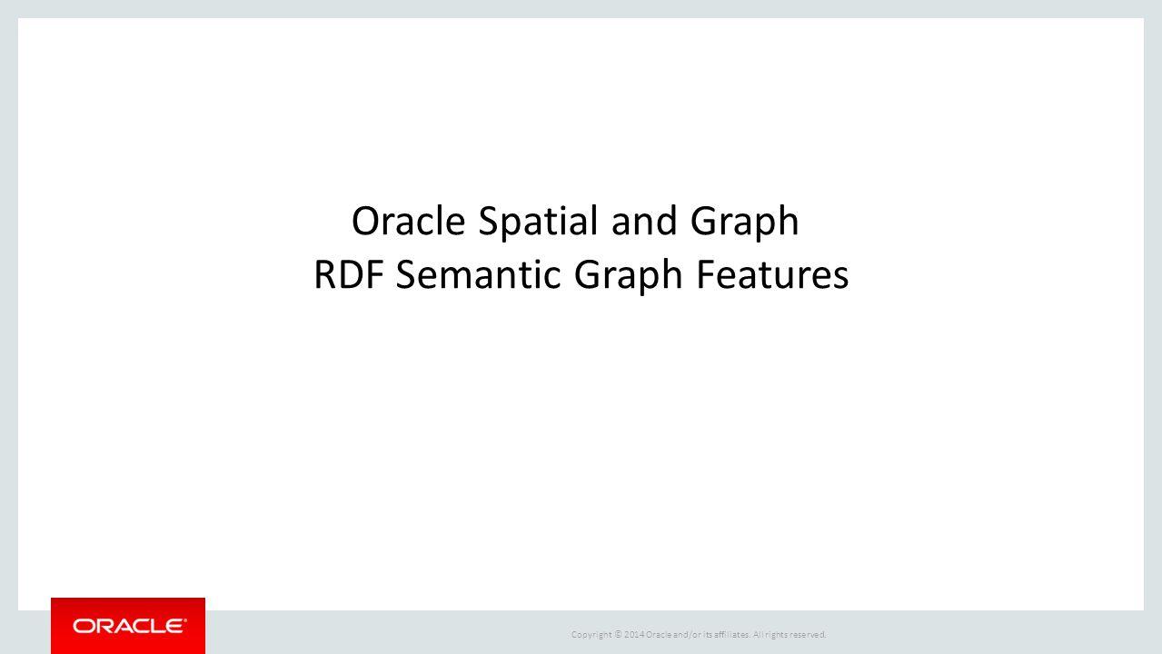 RDF Semantic Graph Features