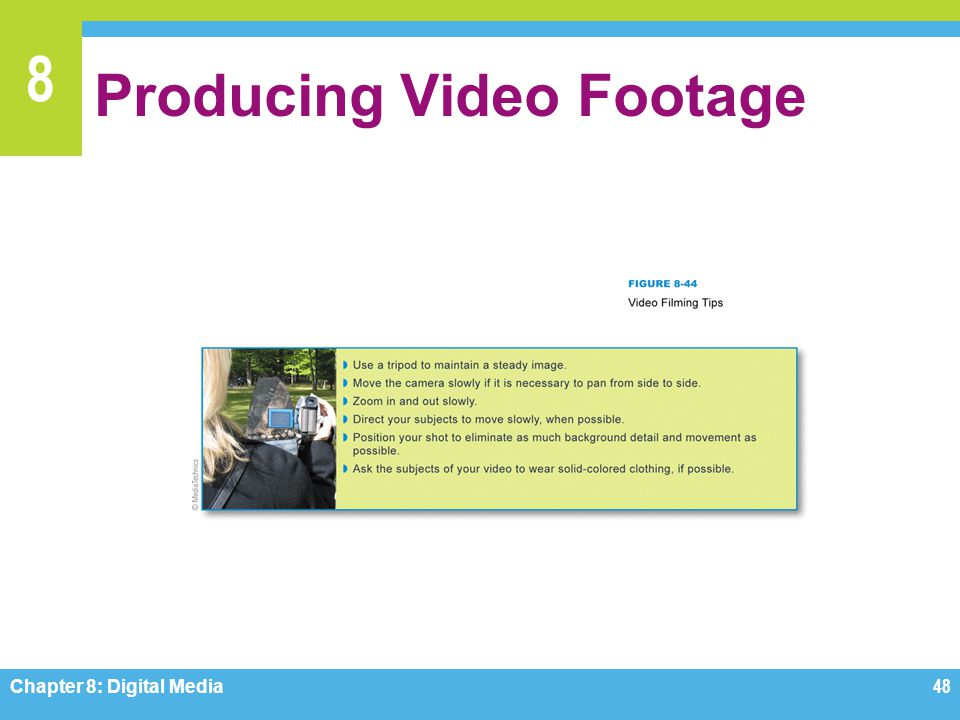 Producing Video Footage