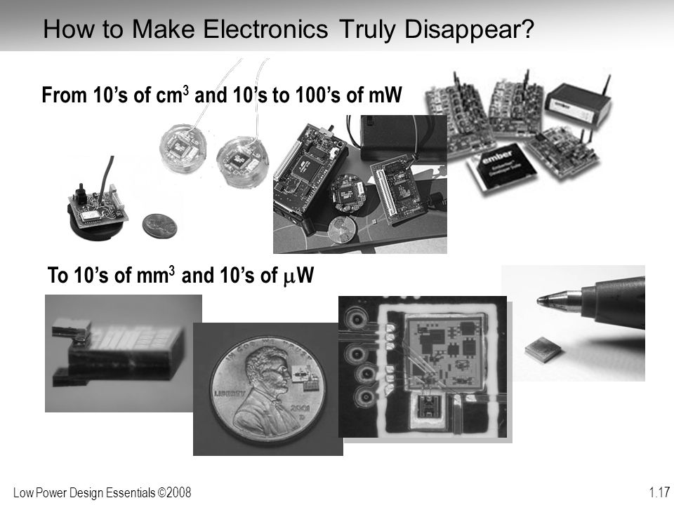How to Make Electronics Truly Disappear