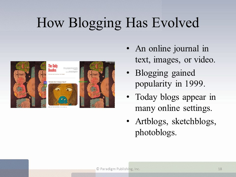 How Blogging Has Evolved