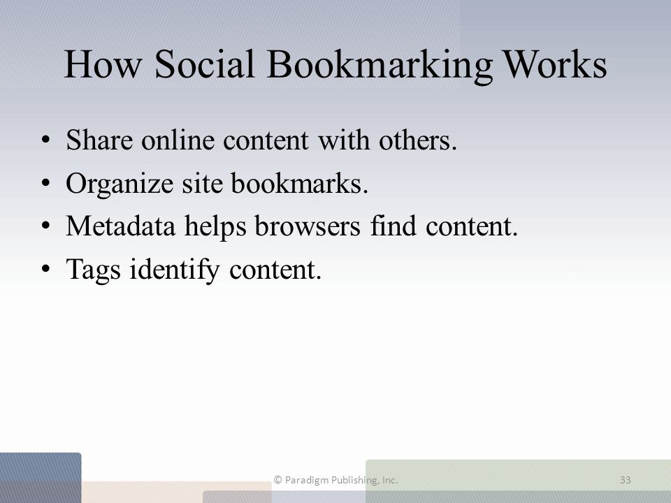 How Social Bookmarking Works