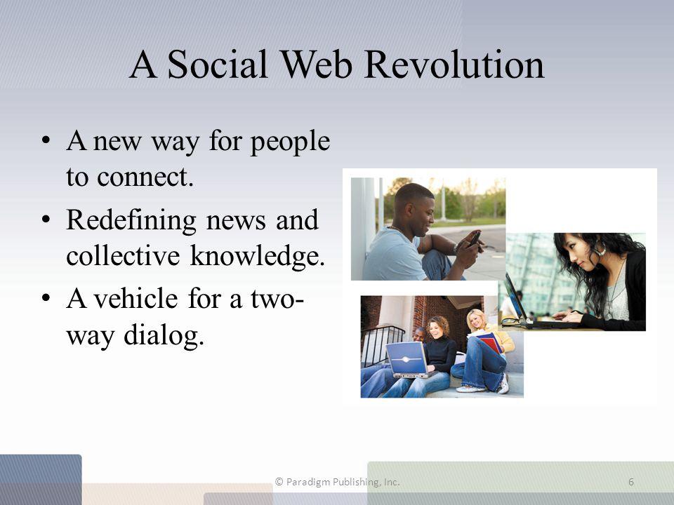 A Social Web Revolution