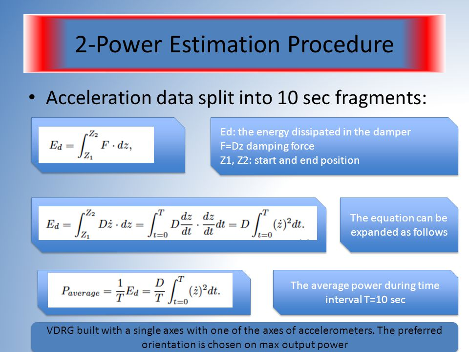 2-Power Estimation Procedure