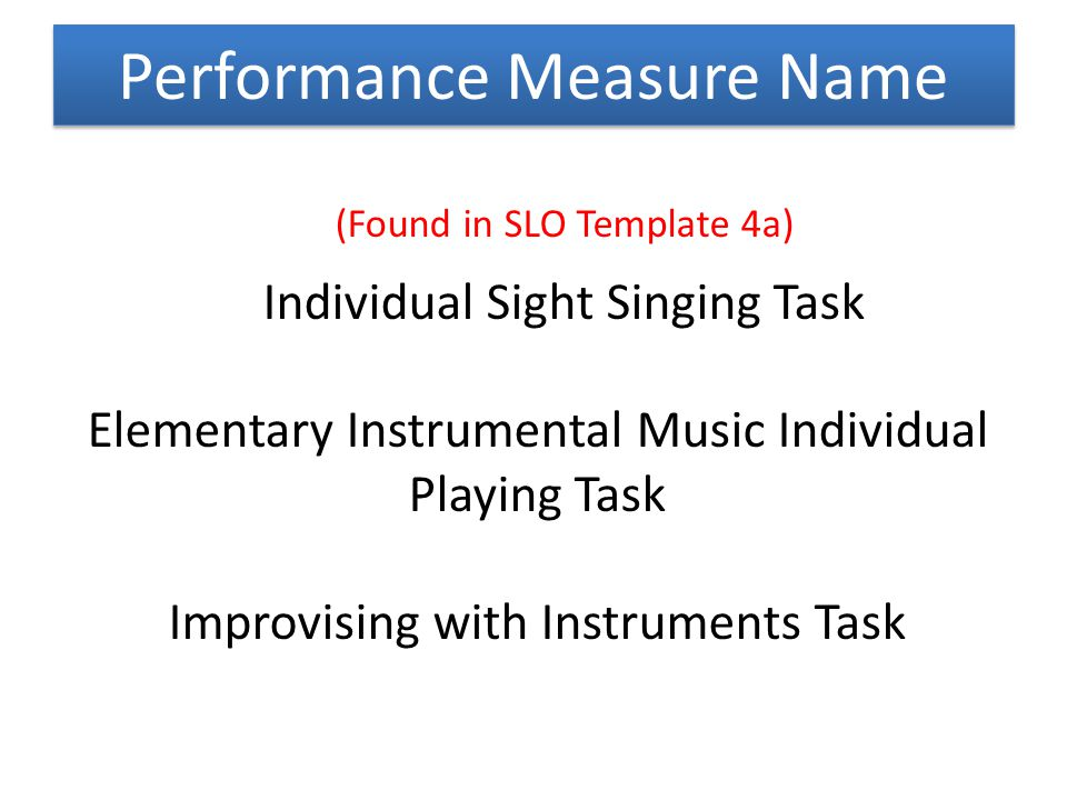 Performance Measure Name