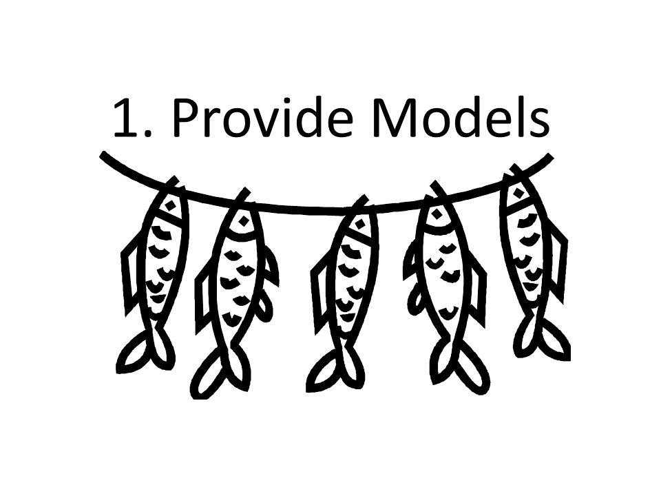 1. Provide Models