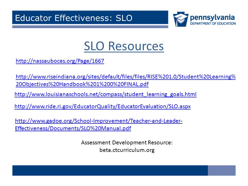 Assessment Development Resource:
