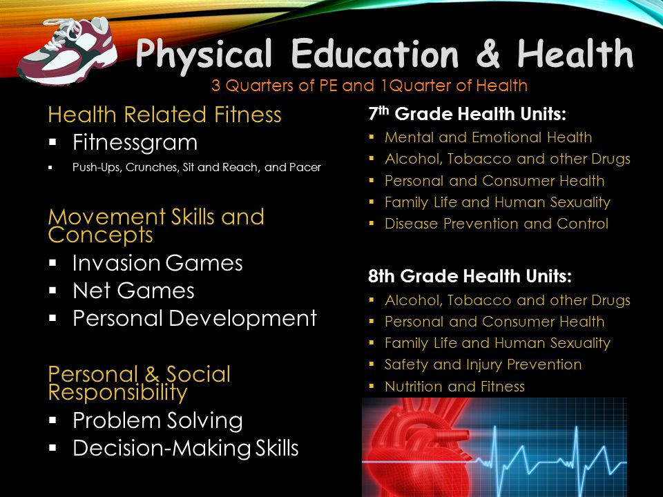 Physical Education & Health