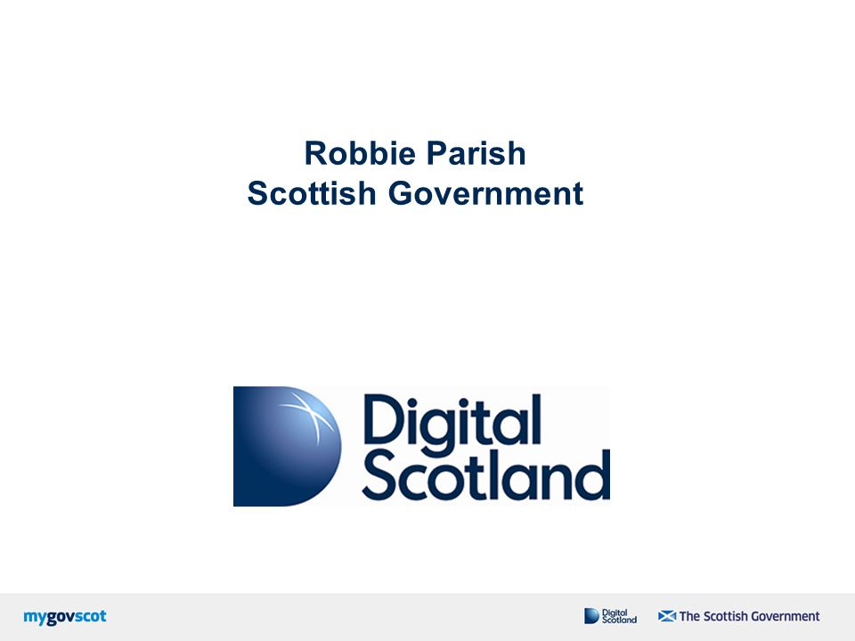 Robbie Parish Scottish Government