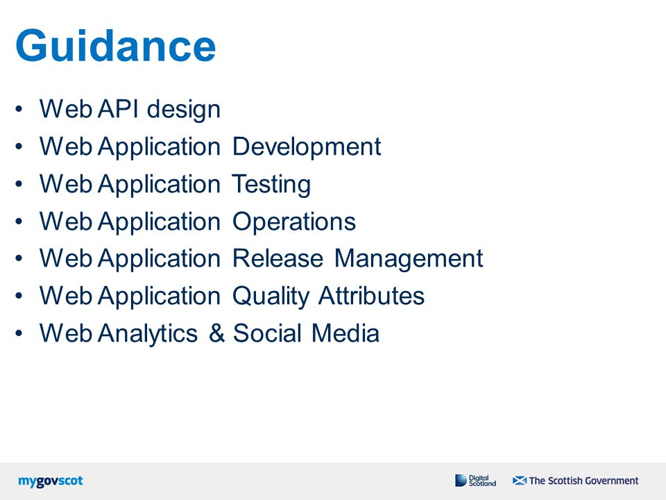 Guidance Web API design Web Application Development