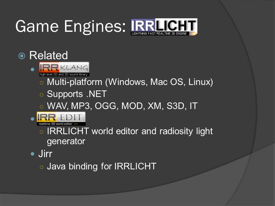 Game Engines: Irrlicht