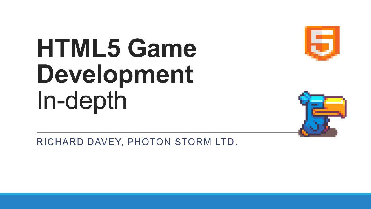HTML5 Game Development In-depth