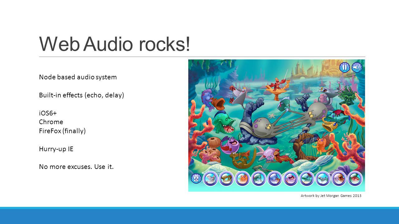 Web Audio rocks! Node based audio system