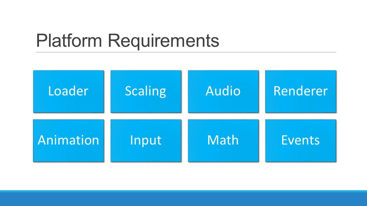 Platform Requirements