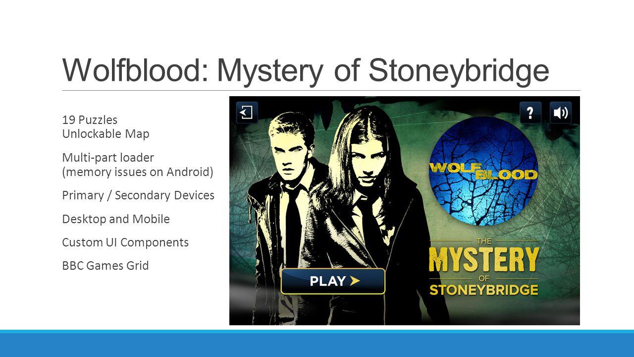 Wolfblood: Mystery of Stoneybridge