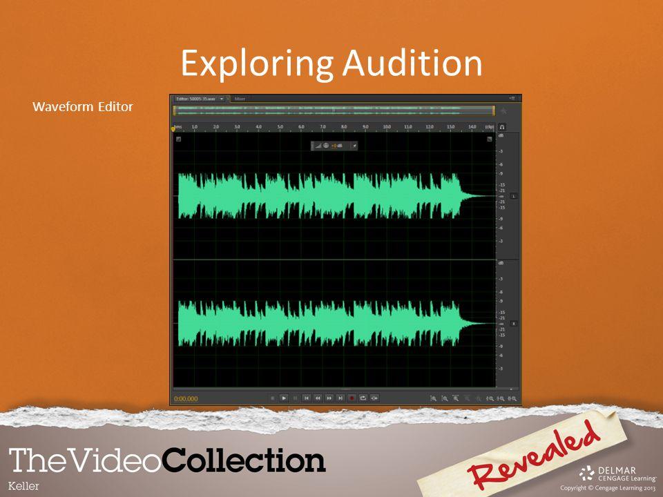 Exploring Audition Waveform Editor