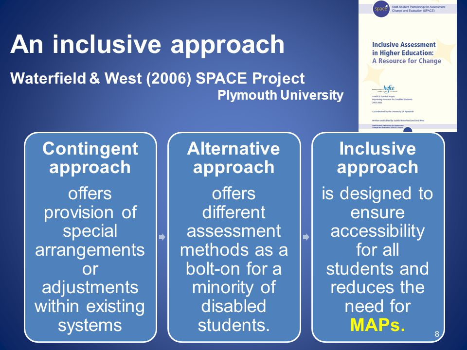 An inclusive approach Contingent approach