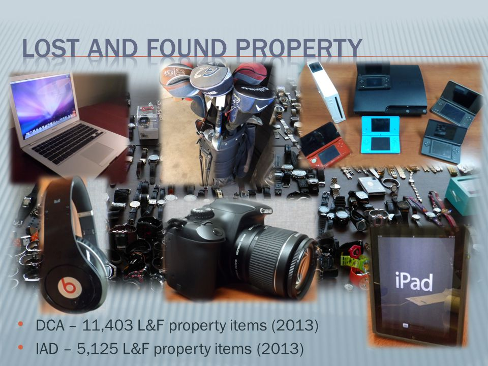 Lost and Found Property
