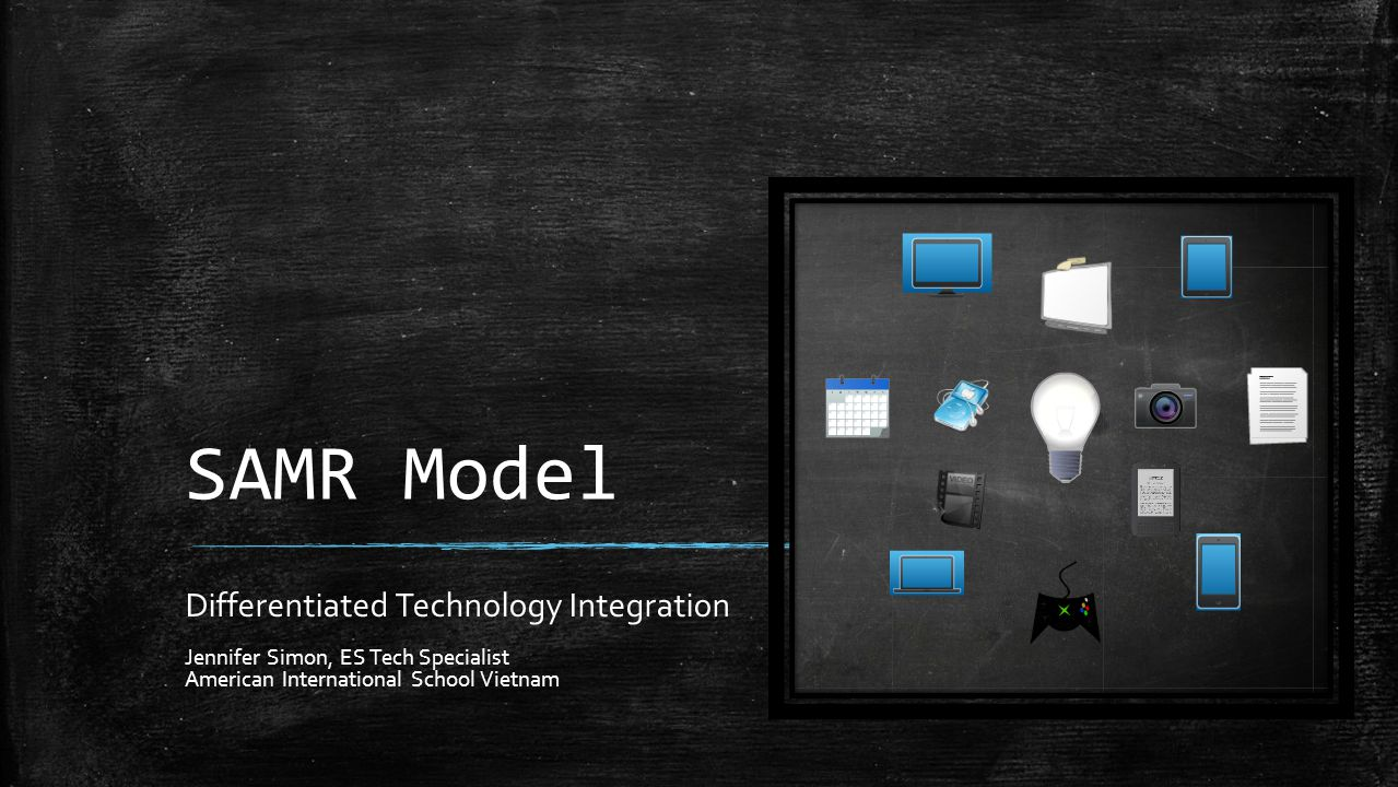 SAMR Model Differentiated Technology Integration