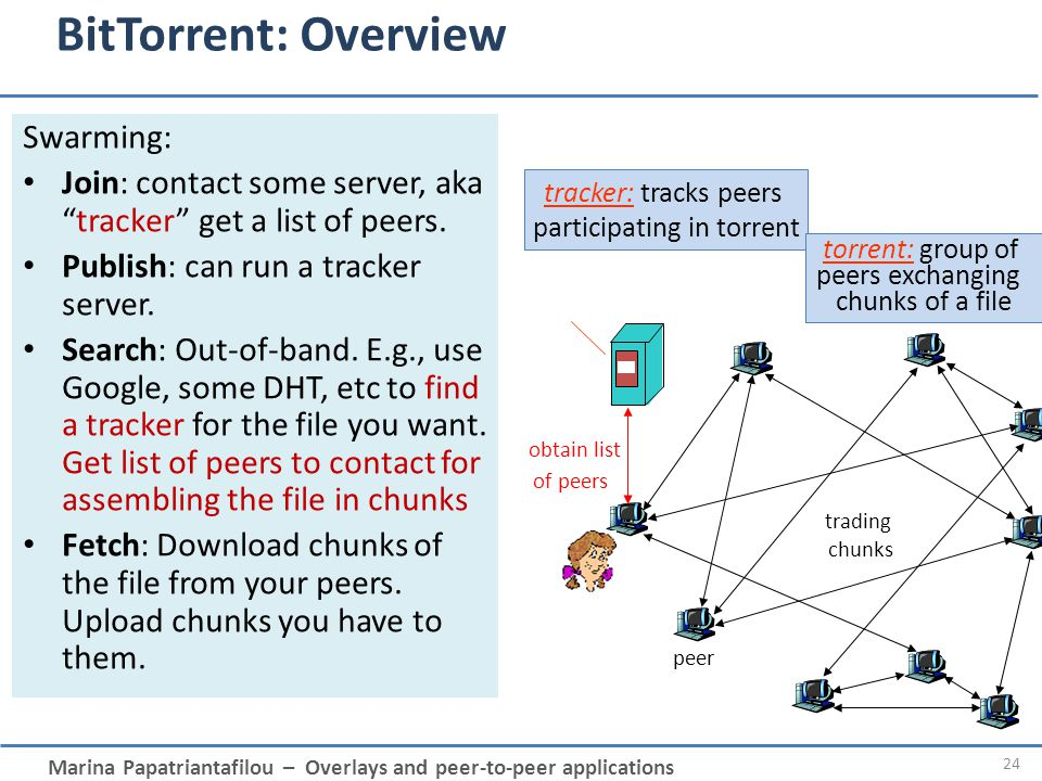 participating in torrent